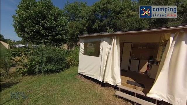 Camping Les Portes de l'Anjou DURTAL Pays de la Loire FR