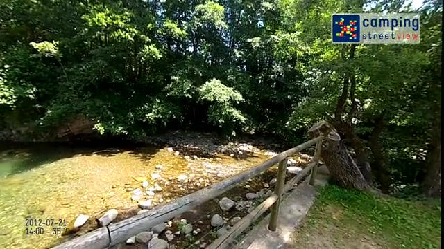 Camping Baliera Bonansa Aragón Spain HD